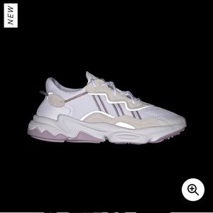 Adidas Ozweego Women's size 7 in cloud white/lilac